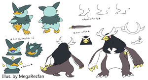 Pengrice   Antartrice Concept Sheet by MegaRezfan