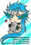 Chibi  Resurrection Grimmjow by ShaniNeko