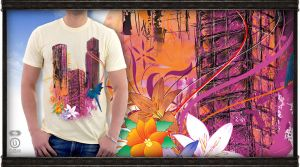 ReBuild t-shirt artwork by graphex