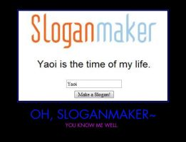 Sloganmaker And Yaoi x_x by Destiel2010