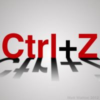 Ctrl+Z by Matt-Walton-Design