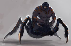 Male Arachnoid by Artsed
