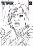 Tether Issue 2 page 9 pnl 3 inks by IsleSquaredComics