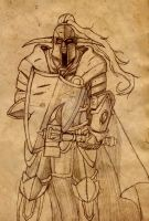 Sir Samuel Parchment sketch by Allocer2009