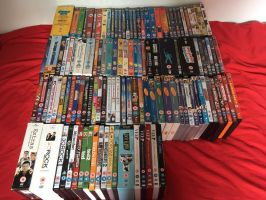 All my DVDs (May 2017) by JennyRichardBlakina