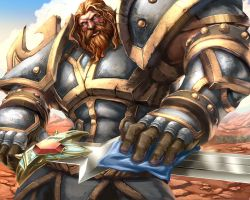 WoW TCG - Andiss Butcherson by UdonCrew