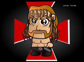 Triple H - Chibi Wrestlers by kapaeme