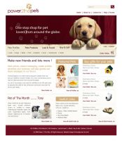 Pets website by andaaz