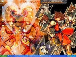 Kingdom Hearts wallpaper by t-ouch