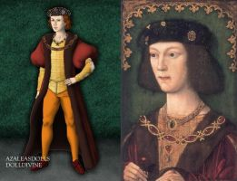 Henry VIII at 17 by LadyAquanine73551
