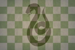 Slytherin House Wallpaper. by athenadeniise