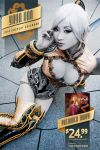 2014 Yaya Han Calendar - Dark Elf Flyer by yayacosplay
