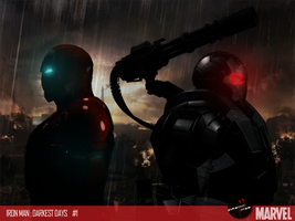 Ironman Warmachine HD DarkestDay by DareDesignStudio