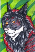 Prize ACEO: Marlow by KamiraWolfDemon