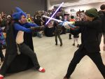Mini Comic Con 2016 - Clash of the Heroes by emperorshaokahn123