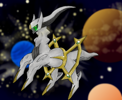 Pokemon Arceus by Ink-Leviathan
