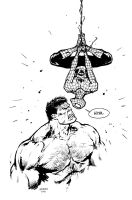 Spidey and Hulk by FlowComa