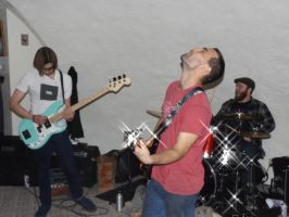 Over Sea, Under Stone live at The Hobbit Hole by kaijusaurus387