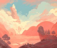 Red Valley by bearmantooth