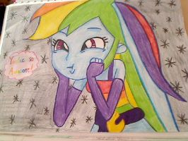 Rainbow Dash: YOU'RE SO AWESOME! by HamaBeadsPonies