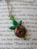 Deku Mask Necklace Majoras Mask by JenniferSlattery