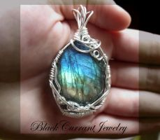 Spring Aura by blackcurrantjewelry