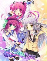 Angel Beats by Juu-Yuki