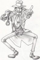 shaded zenigata 1 by lshikawaGoemon