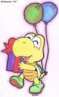 Gift giver Koopa Troopa by Boltonartist