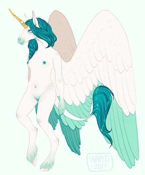 commission for opplet // oestre ref by wapitiadopts