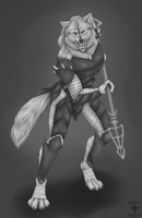 Sacrament Doom Knight Concept Art by RoslynnSommers