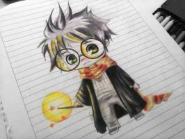 Chibi Harry Potter by KaaMiiLa