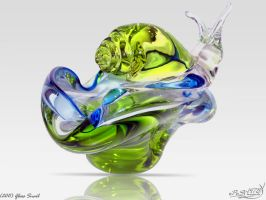 Glass Snail by PaSt1978