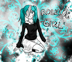 Hatsune Miku - Rolling Girl by JoyDreamerART