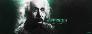 Albert Einstein by mikeepm