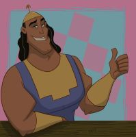 Kronk by Greykitty