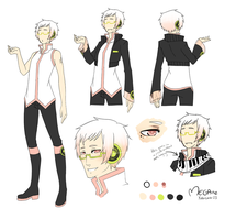 UTAU:MEGAne:Reference Sheet:EDITED: by nekodoru