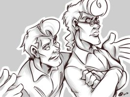 Enough of your crap, Venkman by zillabean