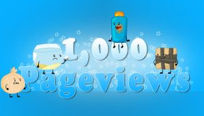 1000 Pageviews (Thanks A Bunch) by MrSupreme4