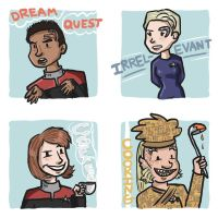 Voyager doodles by MrDataTheAwesome