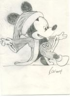 Mickey Claus by raynichols