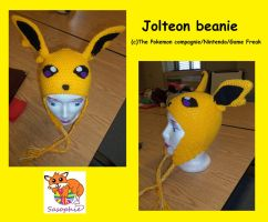Jolteon beanie by Sasophie