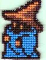 Final Fantasy 1 Black Mage by StitchPlease