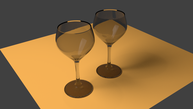 Wine glasses by thiagofelix