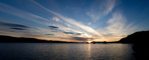 Tongass Narrows Evening by Muskeg