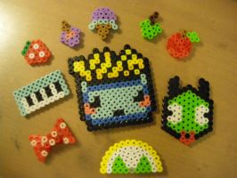 perler beads trial four by seadworp