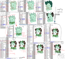SAI Tutorial: Clipping Group n' Preserve Opacity by Furreon