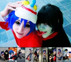 GoRiLLaZ Cosplay Wallpaper by Kittykattykitkat