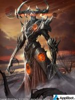 Hades, Ruler of the Planet of Darkness Regular by Concept-Art-House