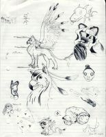 Doodle Page no.1 by ashkey